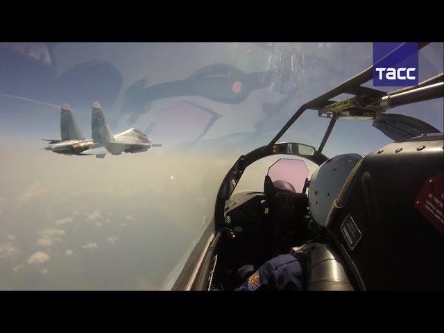Истребители Восточного военного округа впервые провели перебазирование на Итуруп