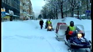Århundradets snöstorm - Minnen & bilder från dagarna som skakade Gävle 1998