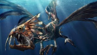 Most TERRIFYING Mythical Sea Creatures!