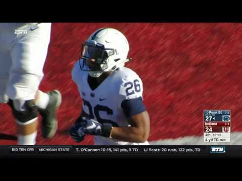 Penn State at Indiana - Football Highlights