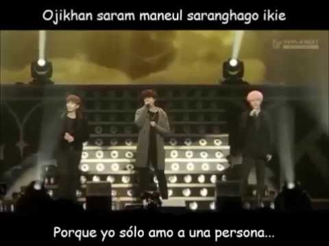 Super Junior KRY The one I love you Special Winter Concert sub español + romanización