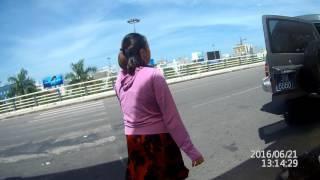 170621 Hội An về  Vào cổng sân bay Đà Nẵng