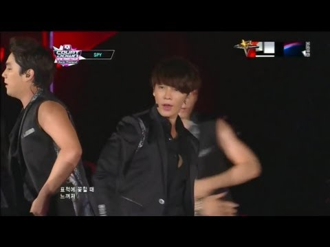 Super Junior(슈퍼주니어) - Superman+SPY 121011 Global Mcountdown