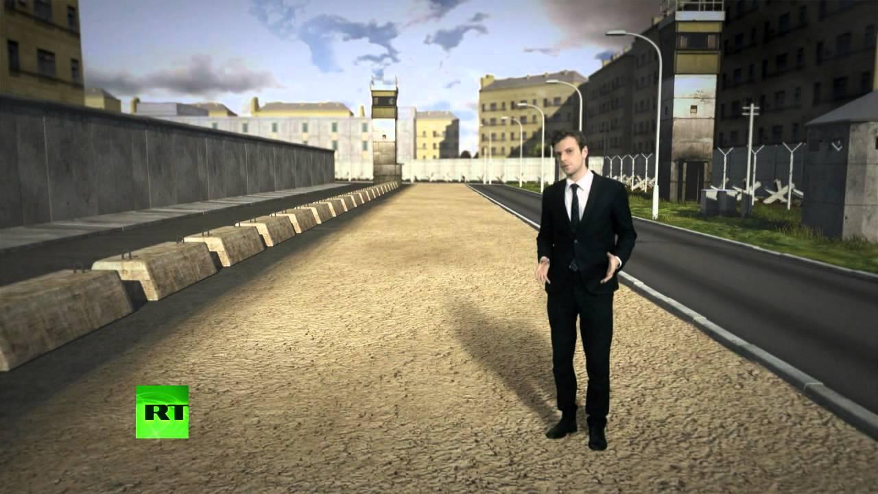 13 августа 1961 года - началось сооружение Берлинской стены