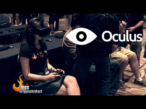 Oculus Rift VR Headset Unboxing