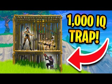 THIS ACTUALLY WORKS! *1000 IQ TRAP!* | Fortnite Battle Royale