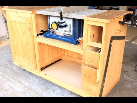 Diy Table Saw Workstation Part 1 Youtube