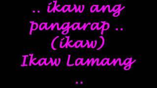 ikaw lamang janno & jaya with lyrics
