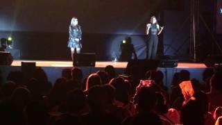 Pokwang And K Brosas In Cebu Concert - Basta Bisaya