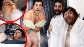 FREEZING OUR BODIES TO -200 DEGREES ft Joe & Jonah! (CRYOTHERAPY)