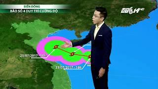 (VTC14)_Thời tiết các thành phố lớn ngày 24/07/2017 | bản tin dự báo thời tiết