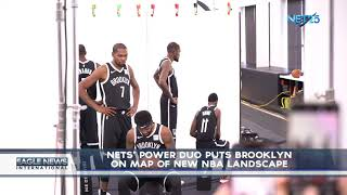 Nets' Power Duo Puts Brooklyn on Map of New NBA Landscape