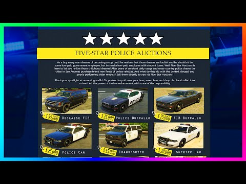 Amazing GTA 5 Cars & Police Website Concepts - Sports Police Cars, New Vehicle Class & MORE! (GTA 5)