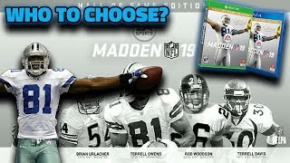 MADDEN 19 HALL OF FAME EDITION | WHO SHOULD YOU PICK *UPDATED*