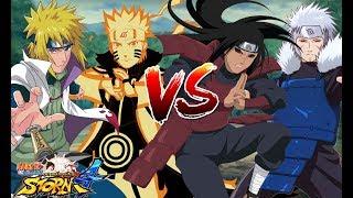 Hai Cha Con Đối Đầu Hai Anh Em - Naruto Song Đấu