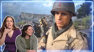 Female Marines REACT to Omaha Beach from Call of Duty WWII | Experts React