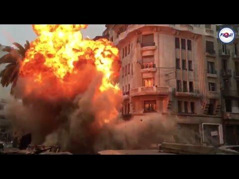 فيلم صيني بالبيضاء.. إنفجار كبير على الطريقة الهوليودية
