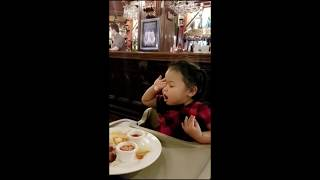 Funny baby - When food is life but sleep is lifer [Scarlett Dangcolis]