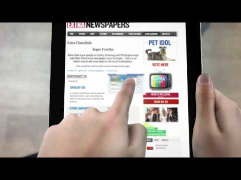 Extra Newspapers - Online through Browser,  Iphone and IPAD