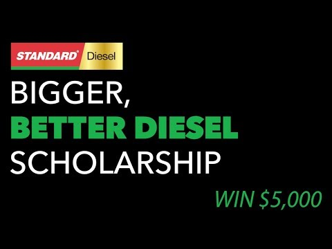 For the second year in a row, Standard® is giving away $5,000 scholarships to aspiring diesel technicians.