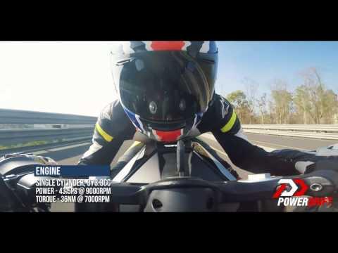 KTM RC 390 (2017) : 0-100 : PowerDrift
