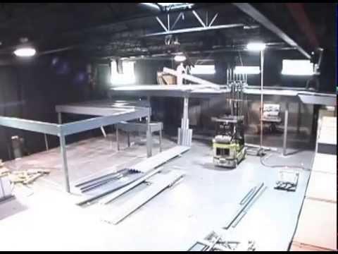 Mezzanine Install Time Lapse