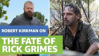 Rick Grimes Walking Dead Fate: Creator Robert Kirkman on his Plans to Kill off Rick