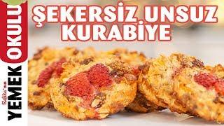 Şekersiz Unsuz Kurabiye Tarifi | Yulaflı Kurabiye Yapımı | İlkay'ın Pasta Hanesi