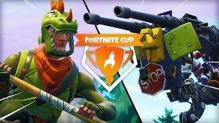 RUNNER VS GUNNER   Fornite Mini-Game (Fortnite Cup)