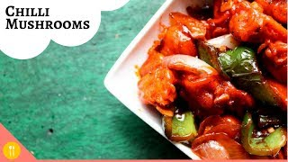 Chilli Mashrooms Restaurant Style | How to make Delicious Chilli Mushrooms (Dry Recipe)