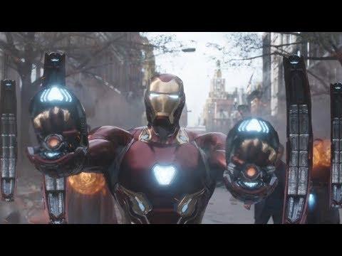 钢铁侠最新战甲分析,纳米技术的加持战斗力大大提升