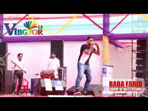 Prabh Gill Performing Live @ VIBGYOR-15