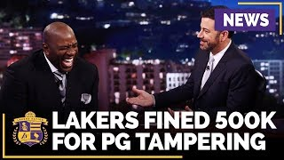 Lakers Fined 500K For NBA Tampering With Paul George