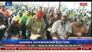 Live Updates: Collation Of Final Results For Anambra Gov'ship Election Pt.11