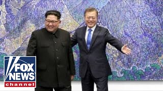 Leaders of North and South Korea pursue peace deal
