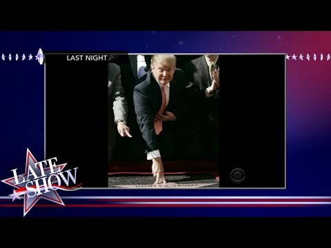Donald Trump's Star Attacked On Hollywood Walk Of Fame