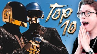 GOODBYE Daft Punk : Their TOP 10 Songs