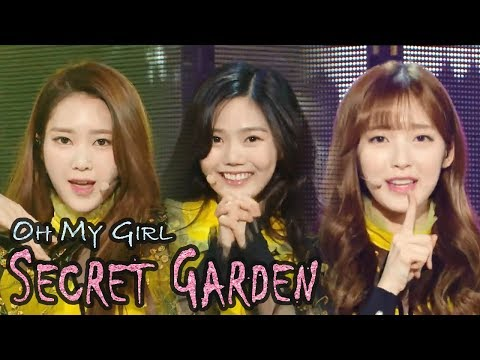 [HOT] OH MY GIRL - Secret Garden,  오마이걸 - 비밀정원 Show Music core 20180127