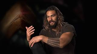 Justice League - Interview with Jason Momoa (Aquaman)