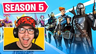New *SEASON 5* BATTLE PASS in Fortnite! (STAR WARS)