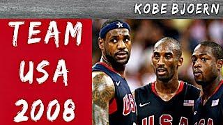 Team USA 2008 vs China - Lebron, Kobe & D-Wade - KobeBjoern kommentiert