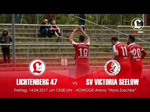 SV Lichtenberg 47 - SV Victoria Seelow (NOFV-Oberliga Nord) - Spielszenen | SPREEKICK.TV