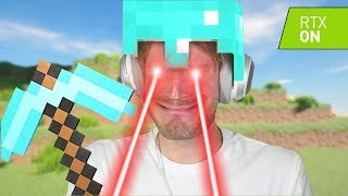 So I tried PewDiePies Minecraft World with RTX ON