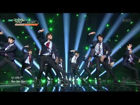 뮤직뱅크 Music Bank - 소년(BOY) - 더보이즈(THE BOYZ).20171222