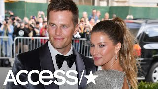 Tom Brady On Love Of His Life Gisele Bündchen: 'I'm The Luckiest Man On Earth' | Access