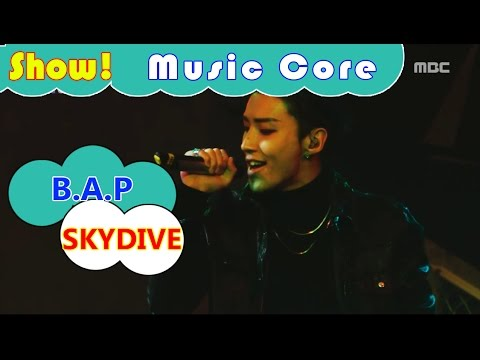[HOT] B.A.P - SKYDIVE, 비에이피 - 스카이다이브 Show Music core 20161119