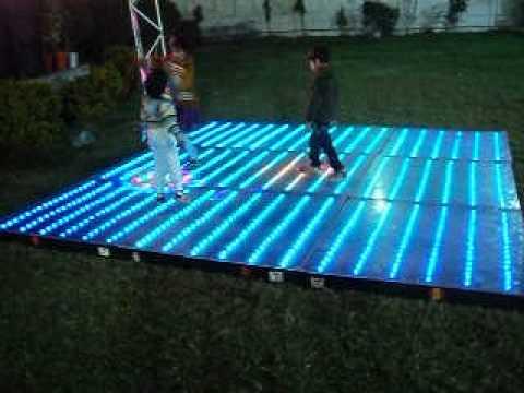 Home Made Led Dance Floor Youtube