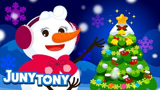 Snowman Family | Christmas Songs | Enjoy the Winter | Kids Songs | Preschool Songs | KizCastle