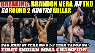 BREAKING NEWS: BRANDON VERA TKO SA ONE CHAMPIONSHIP KONTRA SA INDIANO