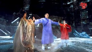 Hư Trúc hút sạch Nội Công của 2 cao thủ phái Tiêu Dao trở thành Đệ Nhất Thiên Hạ   Thiên Long Bát Bộ